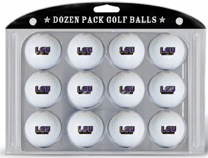 LSU Dozen Golf Balls