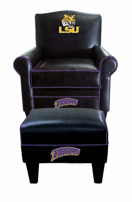 lsu time chair and ottoman
