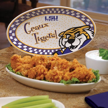 LSU Gameday Ceramic Platter