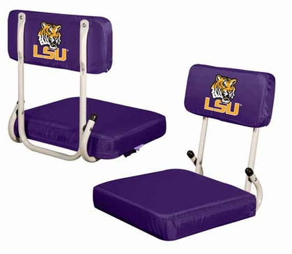 LSU Hard Back Stadium Seat