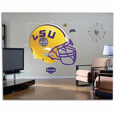LSU Helmet Fathead Wall Graphic