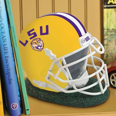 LSU Helmet Shaped Bank