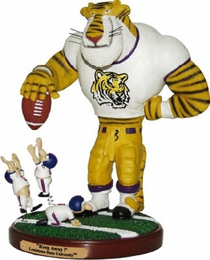 LSU Keepaway Rivalry Statue