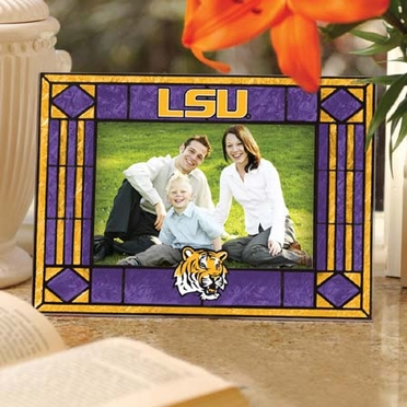 LSU Landscape Art Glass Picture Frame