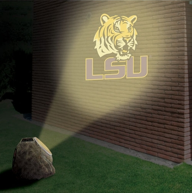 LSU Logo Projection Rock