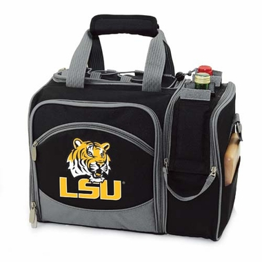 LSU Malibu Picnic Cooler (Black)