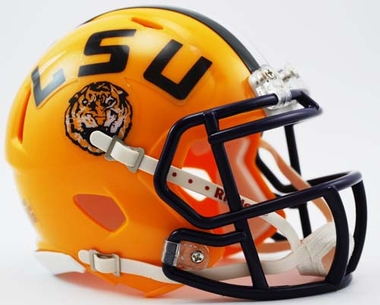 LSU Mini Replica Speed Helmet