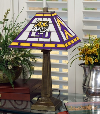 LSU Mission Lamp