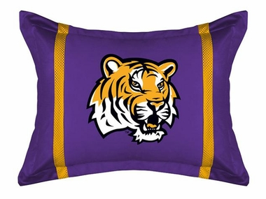 LSU MVP Microsuede Pillow Sham