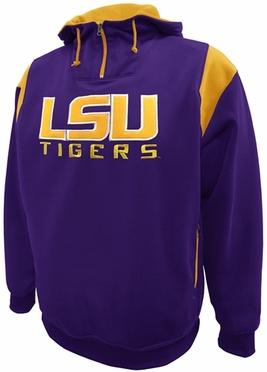 LSU Pick Six Hooded Premium Sweatshirt