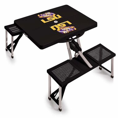 LSU Picnic Table (Black)