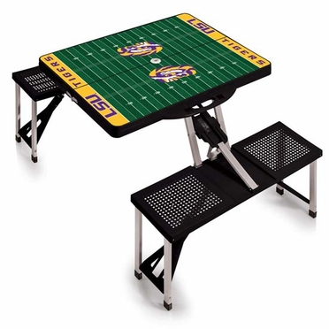 LSU Picnic Table Sport (Black)