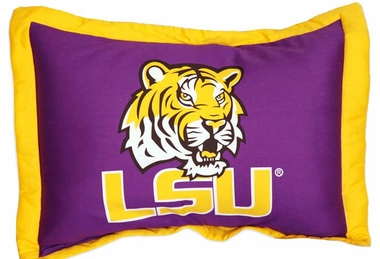 LSU Printed Pillow Sham
