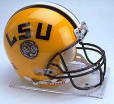 LSU Riddell Full Size Authentic Helmet