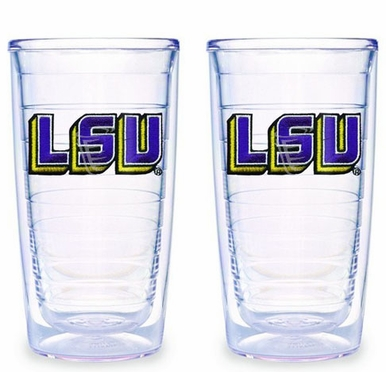 LSU Set of TWO 16 oz. Tervis Tumblers