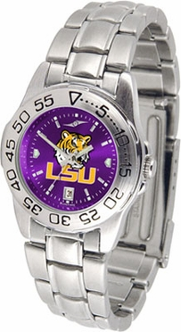 LSU Sport Anonized Women's Steel Band Watch
