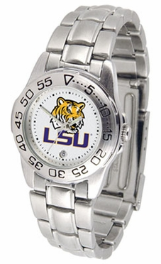 LSU Sport Women's Steel Band Watch