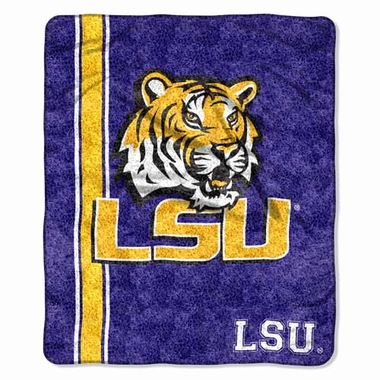 LSU Super-Soft Sherpa Blanket