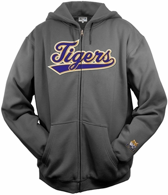 LSU Tailsweep Charcoal Hooded Sweatshirt