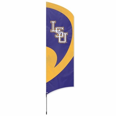 LSU Tall Team Flag