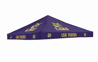 LSU Team Color Canopy