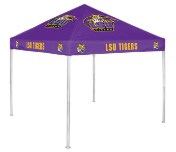 LSU Team Color Tailgate Tent