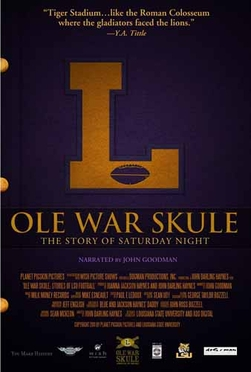 LSU The History of LSU Football DVD