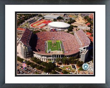 LSU Tiger Stadium - LSU 16x20 Framed and Double-Matted Photo