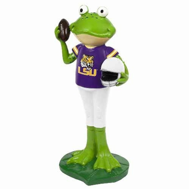 LSU Tigers 12 Inch Frog Player Figurine