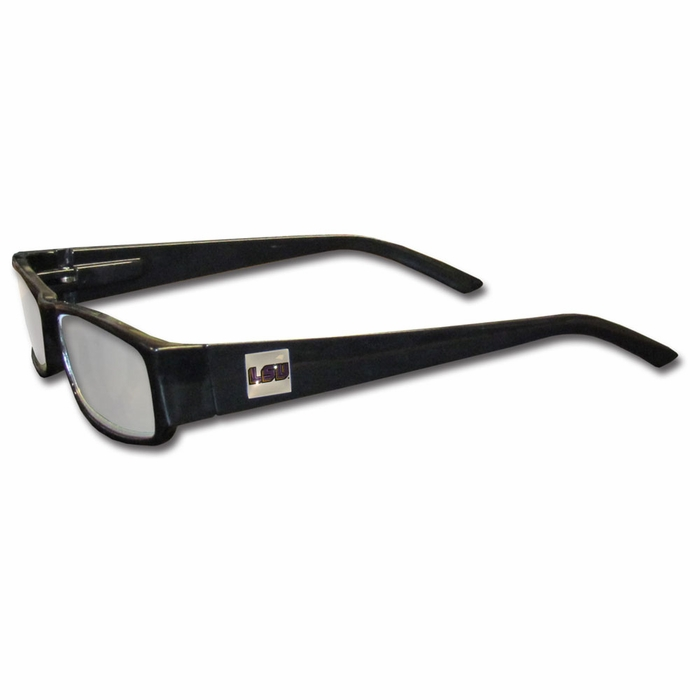 lsu tigers black reading glasses 2 50 f