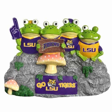 LSU Tigers Frog Fan Bench