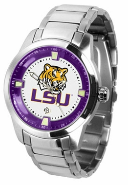 LSU Titan Men's Steel Watch