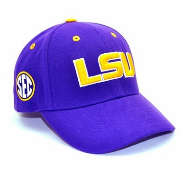 LSU Triple Conference Adjustable Hat