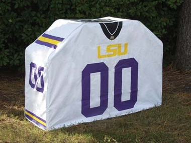 LSU Uniform Grill Cover