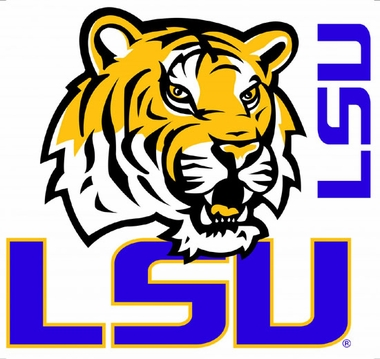 LSU Wallmarx Large Wall Decal