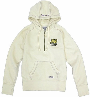 LSU Women's Gamma 1/4 Zip Sweatshirt - Medium