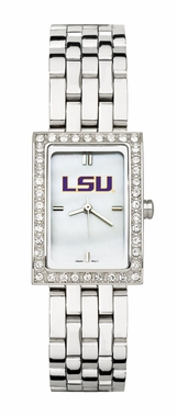 LSU Women's Steel Band Allure Watch