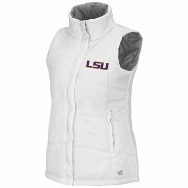 LSU Womens White Vortex Vest