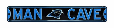 Man Cave Carolina Panthers Street Sign