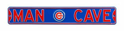 Man Cave Chicago Cubs Street Sign