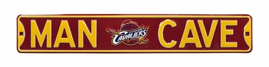 Man Cave Cleveland Cavaliers Street Sign