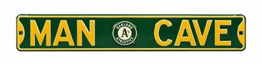 Man Cave Oakland Athletics Street Sign