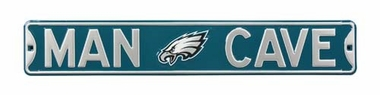 Man Cave Philadelphia Eagles Street Sign
