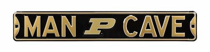 Man Cave Purdue Street Sign