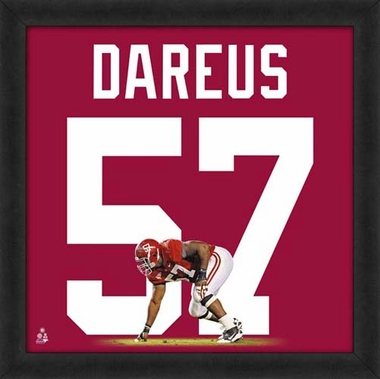 "Marcell Dareus, Alabama Crimson Tide UNIFRAME 20"" x 20"""