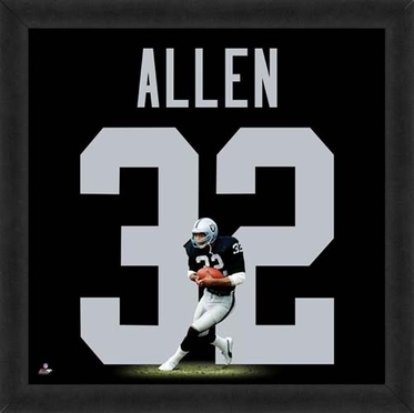 "Marcus Allen, Raiders UNIFRAME 20"" x 20"""