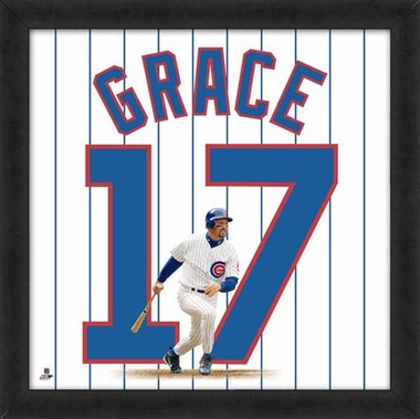 "Mark Grace, Cubs Uniframe 20"" x 20"""