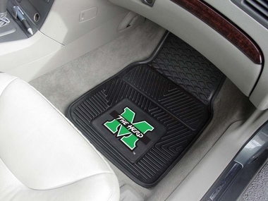 Marshall 2 Piece Heavy Duty Vinyl Car Mats