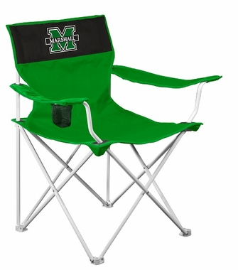 Marshall Canvas Adult Folding Logo Chair