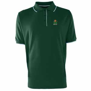 Marshall Mens Elite Polo Shirt (Color: Green) - Medium